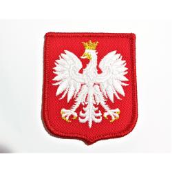 Naszywka Godło RP na mundur galowy wzór MON