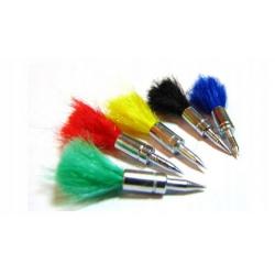 Lotki kolorowe do wiatrówki kal. 4,5 mm - 25 sztuk