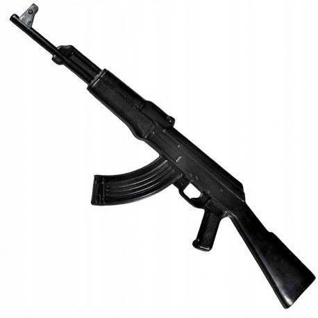 Karabin AK-47 do nauki samoobrony - atrapa gumowa