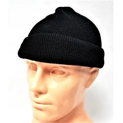 Oryginalna czapka wojskowa czarna