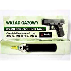 Zapasowy wkład gazowy do pistoletów obronnych