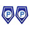 Naszywka Korpusówki POLICJA Służba Prewencji