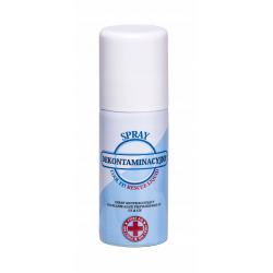 Spray dekontaminacyjny, płyn neutralizujący gaz