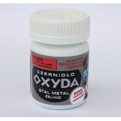 Oksyda, oxyda do broni na zimno, czernidło, 50 g