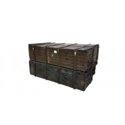 Duża Skrzynia Wojskowa wym.237x65x65 deska