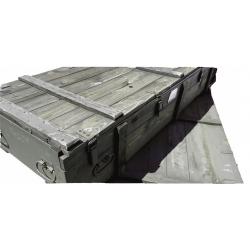 Duża Skrzynia Wojskowa wym. 194x77x36 deska