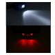 Latarka czołowa LED, białe / czerwone światło