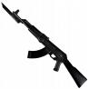 Karabin AK47 do nauki samoobrony z bagnetem atrapa gumowa