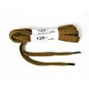 Sznurowadła 120cm sznurówki płaskie khaki bawełna