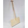 Zgarniacz śniegu, łopata, szufla drewniana/sklejka