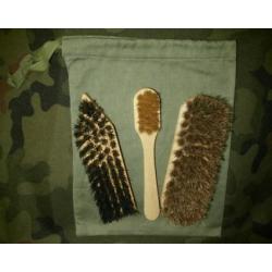 Wojskowy zestaw do konserwacji obuwia