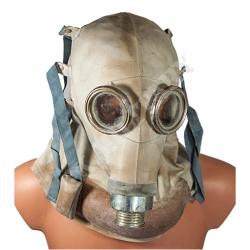 """Maska p-gaz dla rannego w głowę - SR-1 """"słoń"""", komplet"""