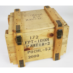 Skrzynia wojskowa, kufer mały FPT-100 wym 44x36x34
