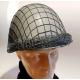 Siatka maskująca na hełm WP ze snajperką - stalowa