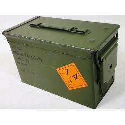 Skrzynka amunicyjna metalowa hermetyczna 30x16x19