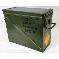 Skrzynka amunicyjna metalowa hermetyczna 46x21x36