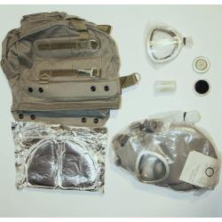Maska p-gaz MP-4 BULDOG rozm.1 NOWA z nowymi filtrami