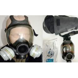 Maska p-gaz pełnotwarzowa MSA, zestaw