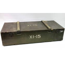 Skrzynia wojskowa po zest. narzędzi wym. 88x40x23