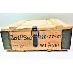 Wojskowa skrzynia amunicyjna 40x38x16