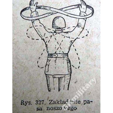 Wojskowy pas noszowy sanitariusza. typ 2
