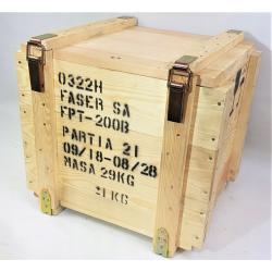 Skrzynia wojskowa, kufer duży FPT-200 wym 46x44x43