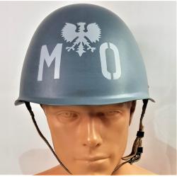 HEŁM stalowy wz. 67/75 MO Milicji Obywatelskiej