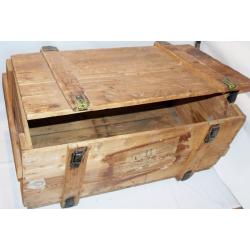 Wojskowa skrzynia kufer loft średnia 80x60x40 g.II